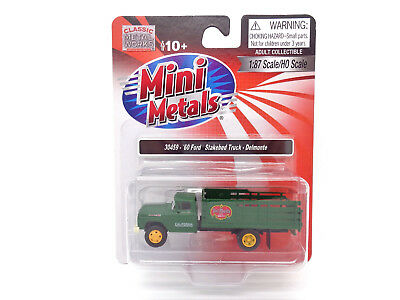 HO Del Monte 1960 Ford Stake Bed Truck - Classic Metal Works #30459 vmf121