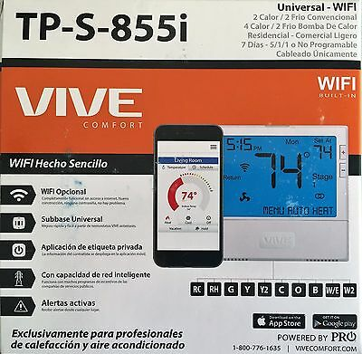 thermostat vive tp s 855i universal wi fi residential or rh picclick com