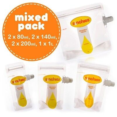 Sinchies Reusable Food Pouch - Mixed Bag