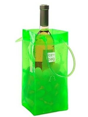 Acid Green Ice Bag Gift Wine Drinks Cooler Chiller