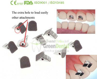 10/PK Bite Turbos Dental Orthodontic Molar Band Niti Archwire Buccal Tube Brace