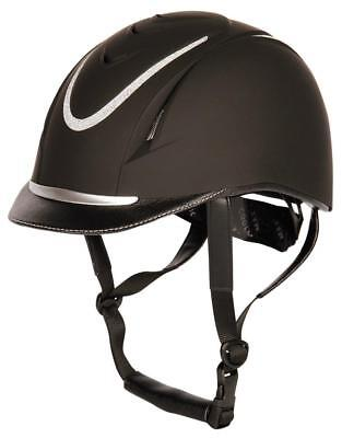 Riding Helmet Challenge BLACK - NEW - Harry's Horse