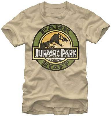 JURASSIC PARK - Park Staff:T-shirt - NEW - LARGE ONLY