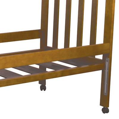 Childcare Ml Accessory Cot Bed Rail (Chestnut) Free Shipping!