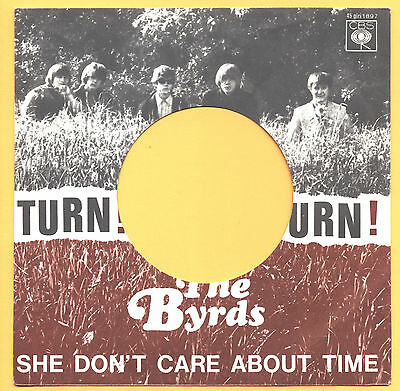 SOLO COPERTINA - COVER ONLY - THE BYRDS - Turn! Turn! Turn! - ITA 1965