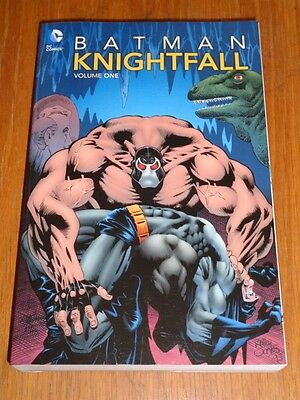 Batman Knightfall Volume 1 DC Comics (Paperback)< 9781401233792