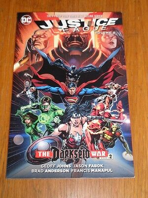 Justice League Darkseid War Part 2 Volume 8 DC Comics (Paperback)< 9781401265397