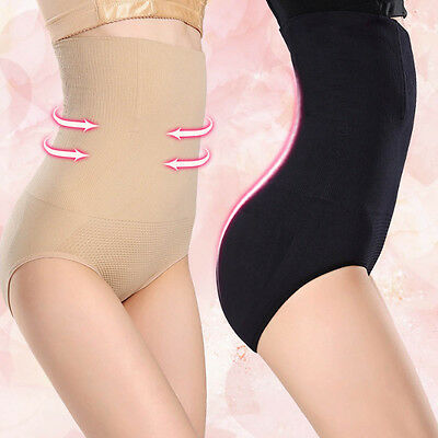 Women Shapewear Seamfree High Waist Slimming Control Briefs Tummy Tuck Bum Lift