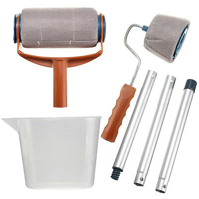 Decorative Paint Roller Wall DIY Painting Runner Roller Set Professional Home