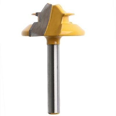 1/2'' Shank Small Lock Miter Router Bits 45 Degree Woodworking Cutter Tool JJ