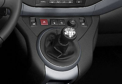 Genuine Soft Leather Gear Shift Boot Gaiter Cover fit BERLINGO III 2009 - 2011