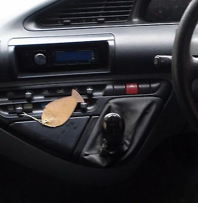 Genuine Leather Gear Shift Boot Gaiter Cover Sleeve fit FIAT SCUDO I 1995 - 2007