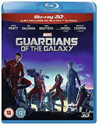 Guardians Of The Galaxy [Blu-ray 3D + Blu-ray] [Region Free] - DVD  50VG The