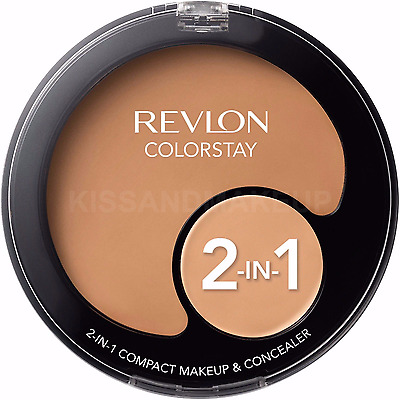Revlon Colorstay 2in1 Compact Makeup Foundation & Concealer - Choose Your Shade