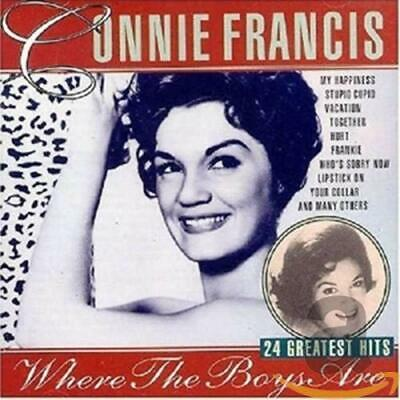 Francis, Connie - 24 Greatest Hits - Francis, Connie CD 0WVG The Cheap Fast Free