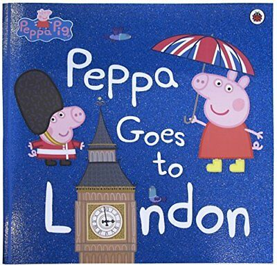 Peppa Goes To London (Peppa Pig) by  New Paperback Book