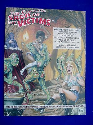 Saga of the Victims, Skywald horror paperback collection. Rare. VFN/NM.