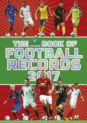 The Vision Book of Football Records 2017 by Clive Batty Book The Cheap Fast Free