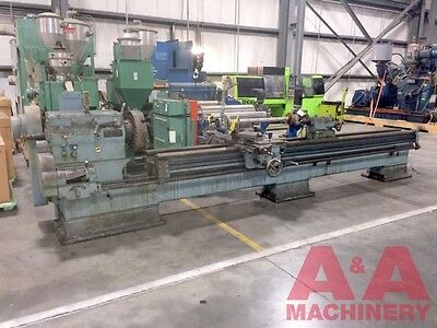 LeBlond Sliding Extended Gap Bed Lathe 22770