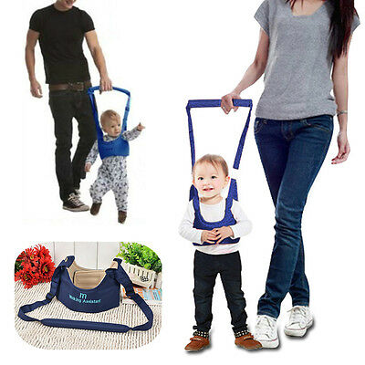 Baby Toddler Walking Harness Aid Assistant Safety Rein Train Learn To Walk