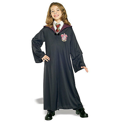 HARRY POTTER Gryffindor ROBE Boys Girls Hermione Fancy Dress Costume 884253