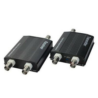 2X2 Channel Video Multiplexer Transmitter and Receiver for SECURITY CAMERA XD