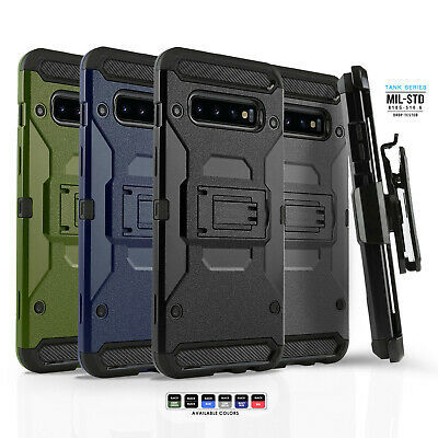 for SAMSUNG GALAXY S9 S10 S10e PLUS, NOTE 9, [Tank Series] Phone Case & Holster