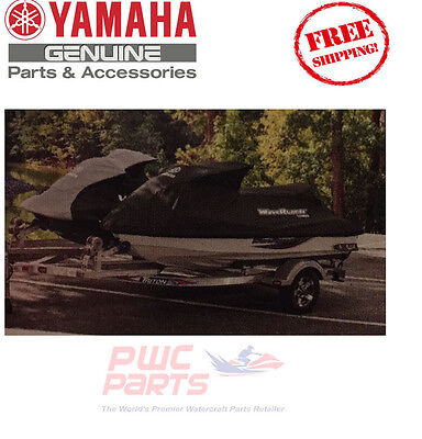 YAMAHA FX-HO WaveRunner 2006-2008 Cover BLACK 100% OEM MWV-UNIFX-01-16