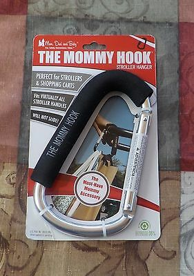 New The Mommy Hook/stroller Hanger/baby/shopping Carts/walking/diaper Bag
