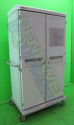 Metro Starsys SXR Polymer Antimicrobial Portable Supply Cabinet  2 Door #4