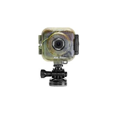 Spypoint XCEL STREAM WiFi Action Camera With Viewing Screen Camo