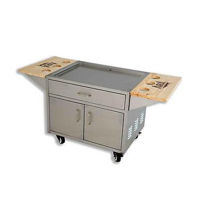 Airia A0044 Stainless Steel Patio Cooler Cart 50 Quart