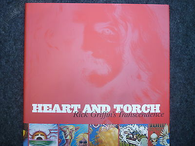"""""""heart And Torch - Rick Griffin's Transcendence"""" - Hard Cover - Rick Griffin"""
