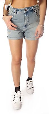 Shorts Cheap Monday Donna Fans jeans pantaloncino pant pantaloni corti denim
