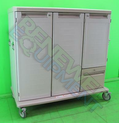 Metro Starsys Portable Supply Cabinet  3 Doors and 1 Drawer