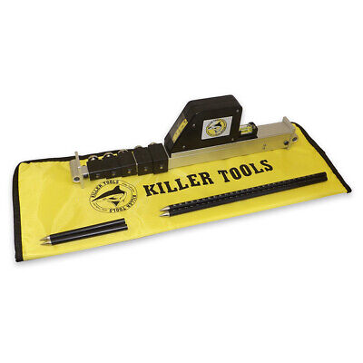 Killer Tools Professional Telescoping Measuring Micro Tram Gauge and Bag ART90X