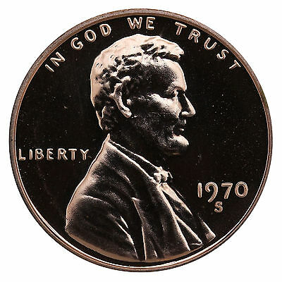 1970-S Lincoln Memorial Cent Penny Gem Proof US Mint Coin Uncirculated UNC