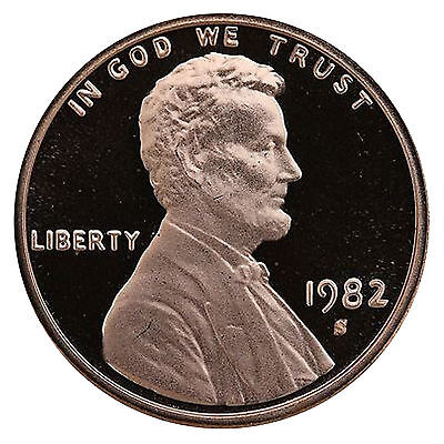 1982-S Lincoln Memorial Cent Penny Gem Proof US Mint Coin Uncirculated UNC