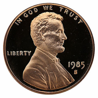 1985-S Lincoln Memorial Cent Penny Gem Proof US Mint Coin Uncirculated UNC