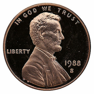 1988-S Lincoln Memorial Cent Penny Gem Proof US Mint Coin Uncirculated UNC