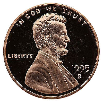1995-S Lincoln Memorial Cent Penny Gem Proof US Mint Coin Uncirculated UNC