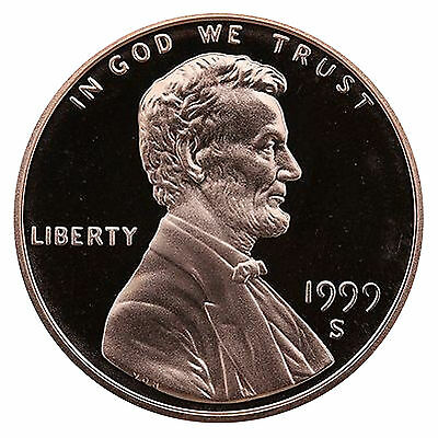 1999-S Lincoln Memorial Cent Penny Gem Proof US Mint Coin Uncirculated UNC