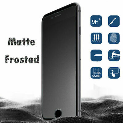 Anti-Glare Matte Tempered Glass Screen Protector Film for Apple iPhone 7 Plus