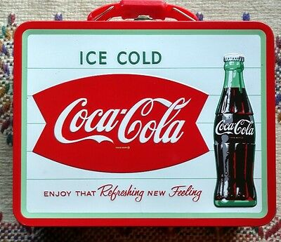 COCA-COLA Tin Lunch/Gift Box. Vintage-Style, Production Date 5/8/2015. NWT