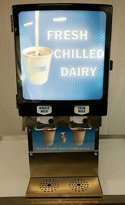 SureShot Dairy Dispenser 2 Flavor Part# AC220-SS-13 Model# AC20 - Tested working