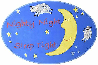 The Kids Room by Stupell Nighty Night Sleep Tight Sheep Jumping Over the ... New