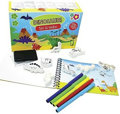 Meadow Kids Dinosaurs-Mini Stamp Sets New
