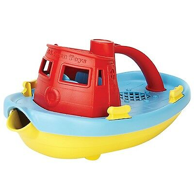 Green Toys My First Tug Boat - Red Standard Packaging New