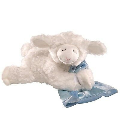Gund Winky Lamb with Blankie-Blue Blue New