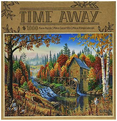 Masterpieces Johnson's Mill Time Away Jigsaw Puzzle (1000-Piece) New